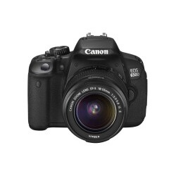 Canon - EOS 650D + EF-S 18-55 IS II Lens Kit