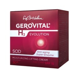 Gerovital Moisturizing Lifting Day Cream UV Protection SPF15