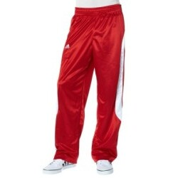 adidas - Performance EU CLUB PANT Basketballhose rot/weiß