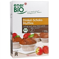 enerbio dinkel schoko muffins 4305615183077 codecheck info. Black Bedroom Furniture Sets. Home Design Ideas