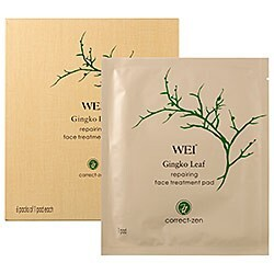 Wei East Ginkgo Leaf Repairing Face Treatment Pads