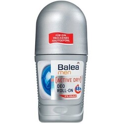 Balea - Men Active Dry Deo Roll-on 48h
