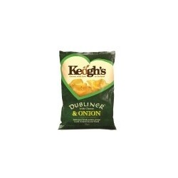 Keogh's, Dubliners Irish Cheese & Onion, 125g