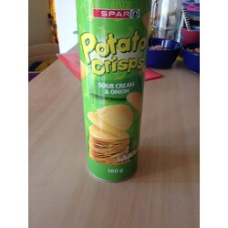 Potato Crisps Sour Cream & Onion