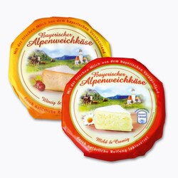 Bayrischer Alpenmilchkäse, mild & cremig - 29051373   CODECHECK.INFO