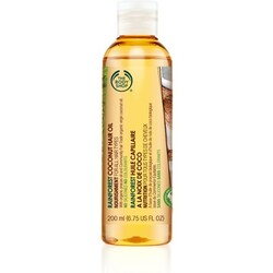 body shop rainforest coconut hair oil