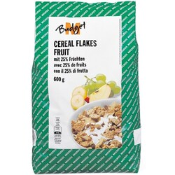 M-Budget Cereal Flakes fruit 600g