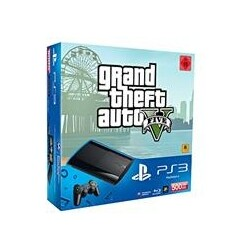 Playstation3 500GB Black + Grand Theft Auto 5