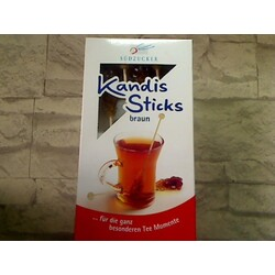 Südzucker Kandis Sticks braun