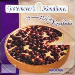 Grothemeyer S Konditorei Pudding Kirschkuchen 4025216002422