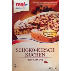 Real Quality Schoko Kirsch Kuchen Backmischung Nach Grossmutters