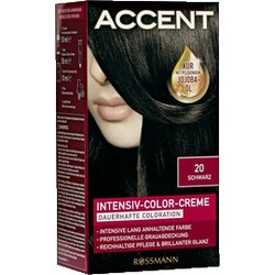 Accent - Intensiv-Color-Creme Nr. 20 Schwarz
