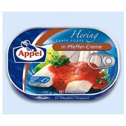 Appel Hering Zarte Filets in Pfeffer-Creme