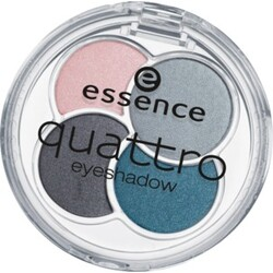 essence quattro eyeshadow, sea my eyes!