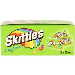 Skittles Kaudragees - Crazy Sours