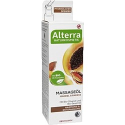 Alterra - Massageöl Mandel & Papaya