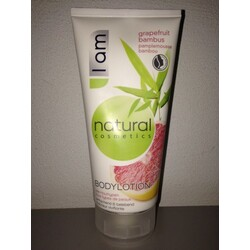 I am natural cosmetics bodylotion grapefruit bambus