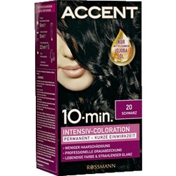 Accent - 10 Minuten Intensiv-Coloration 20 Schwarz