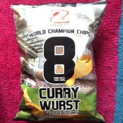 Chips Curry Wurst Flavour