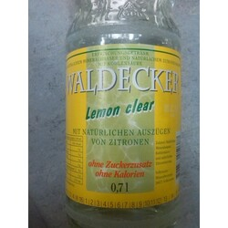 Waldecker Lemon clear