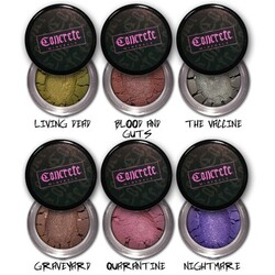 Concrete Minerals - The Zombie Girl Collection