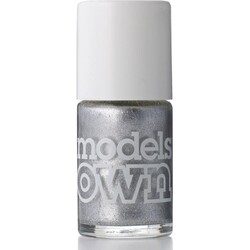 Models own - Metallic-Nagellack - Sterling silver