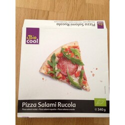 Pizza salami ruccola