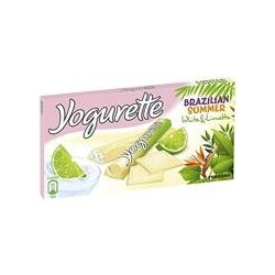 Yogurette Brazilian Summer White&Limette 100g