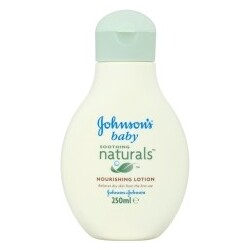 Johnsons Baby Soothing Naturals Nourishing Lotion