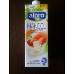 Alpro Mandeldrink Ungesüßt