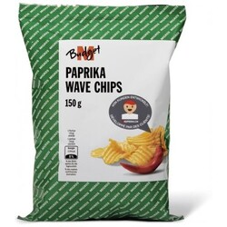 M-Budget Paprika Wave Chips