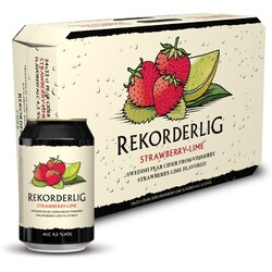 Rekorderlig Cider Strawberry-Lime