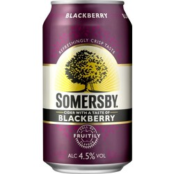 Somersby Cider with a Taste of Blackberry