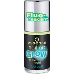 essence nail art GLOW in the night top coat