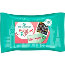essence minis 2go deo wipes