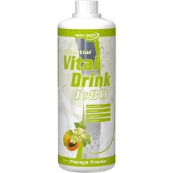 Best Body Nutrition Essential VitalDrink (1l) - Papaya Traube