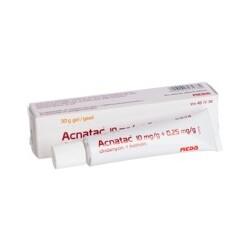 Acnatac 10 mg/g + 0.25 mg/g Gel – | ||| | || CODECHECK.INFO