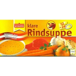 le gusto - klare Rindsuppe
