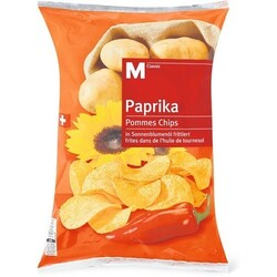 Migros M-Classic Paprika Chips