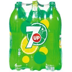 7UP H2Oh Zitrone Limette 6x1l