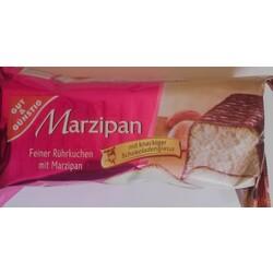 Gut U0026 Günstig   Marzipan Kuchen Mit Schokoladenglasur