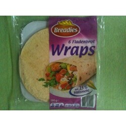 Breadies - 6 Fladenbrot Wraps