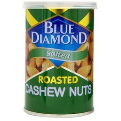 Blue Diamond Roasted Cashew Nuts Salted