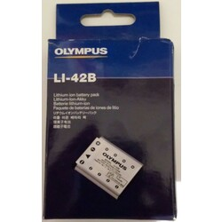 Lithium ion battery pack LI-42B Olympus