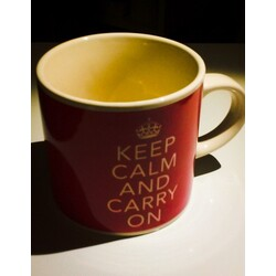 """Keep calm and carry on"" Tasse"