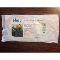 Naty - ECO Sensitive Wipes - Unsented