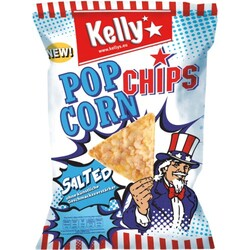 Kelly's - PopCorn-Chips - Salted - 150 g