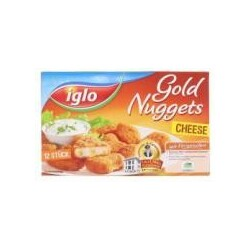 Iglo Gold Nuggets Cheese