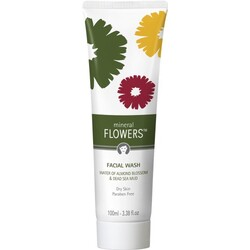 mineral FLOWERS Facial Wash