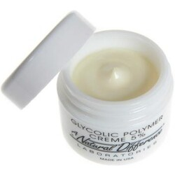a natural difference glycolic polymer creme